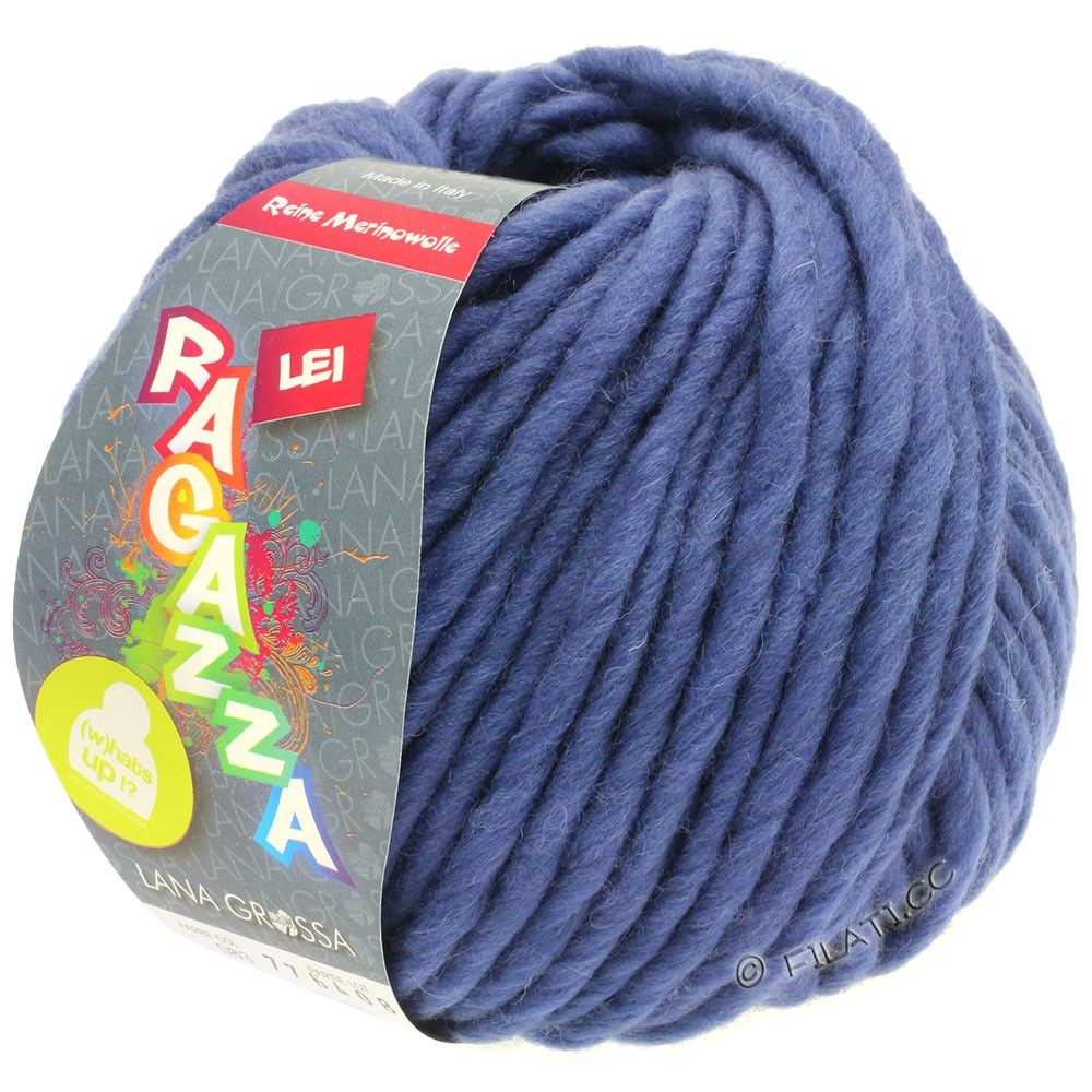Lana Grossa LEI  Uni/Neon (Ragazza)   083-violet blue