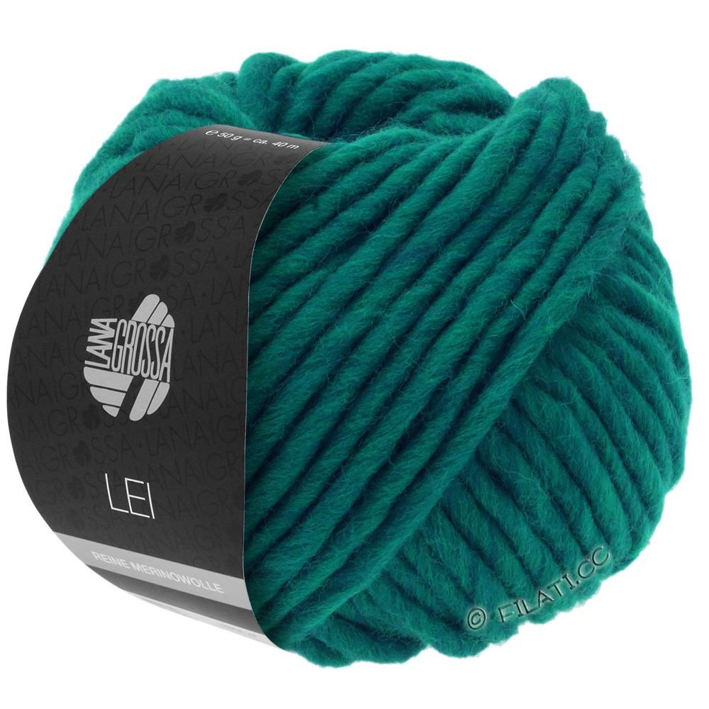 Lana Grossa LEI  Uni/Neon (Ragazza)   087-blue green