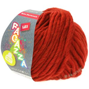 Lana Grossa LEI  Uni/Neon (Ragazza) | 090-red brown