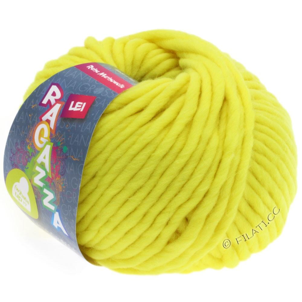 Lana Grossa LEI  Uni/Neon (Ragazza) | 501-neon yellow
