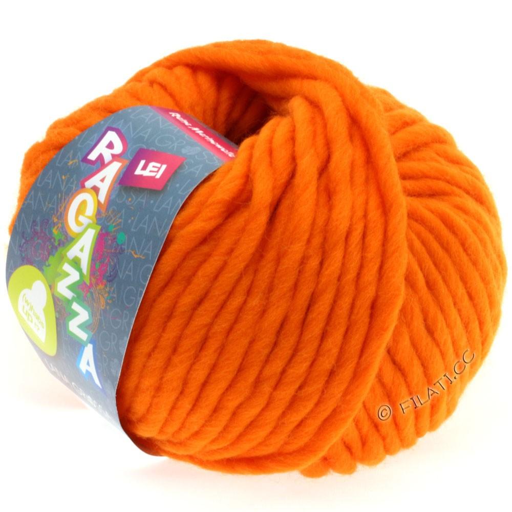 Lana Grossa LEI  Uni/Neon (Ragazza) | 502-neon orange