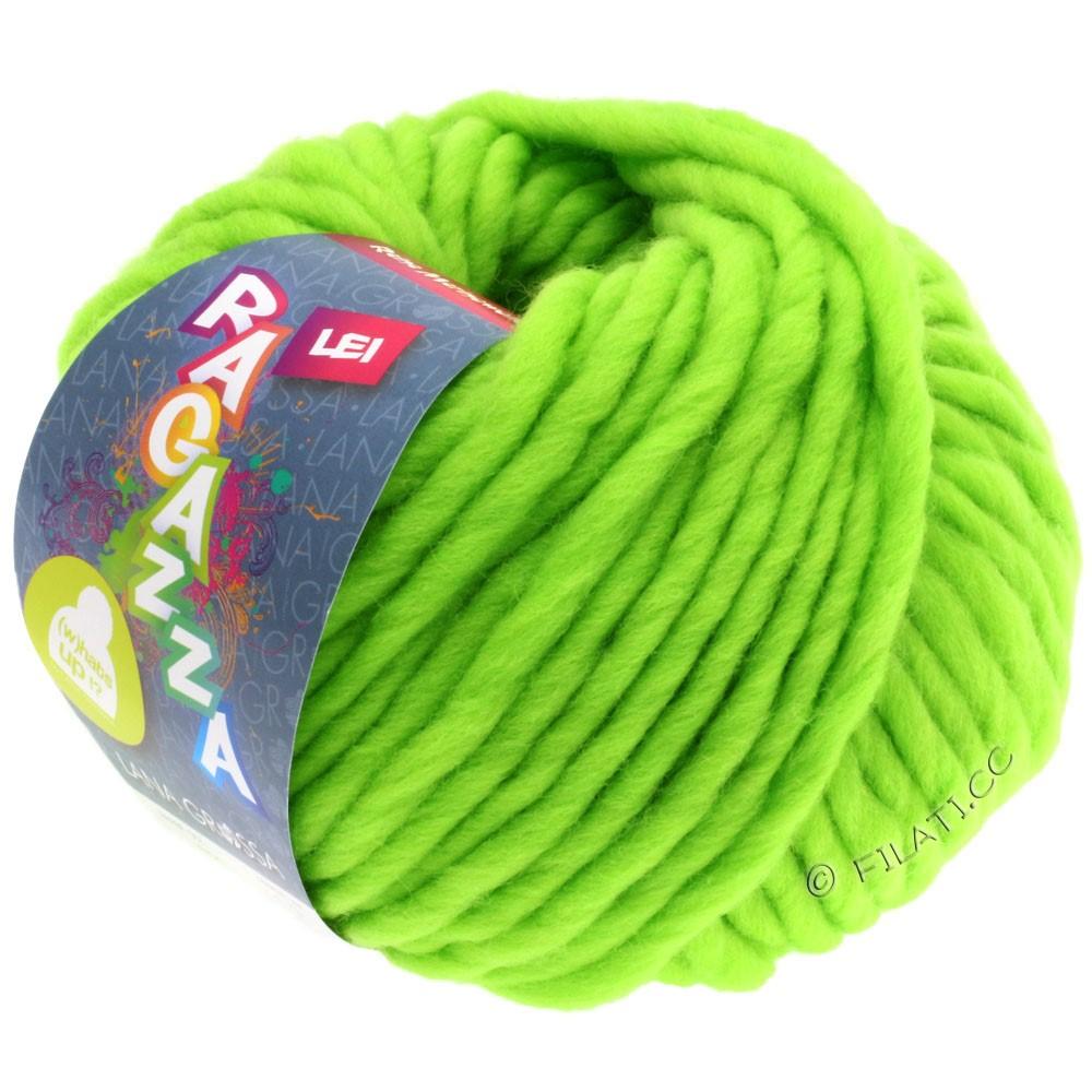 Lana Grossa LEI  Uni/Neon (Ragazza) | 503-neon green