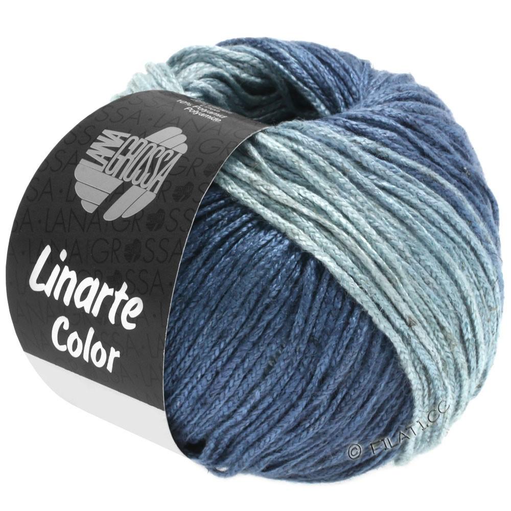 Lana Grossa LINARTE Color | 206-dove blue/blue gray/ocean blue/jeans