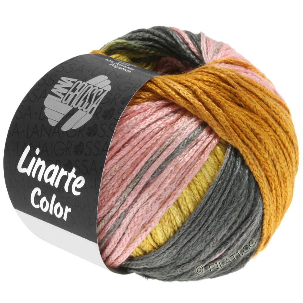Lana Grossa LINARTE Color | 210-broom yellow/gold/peach/khaki