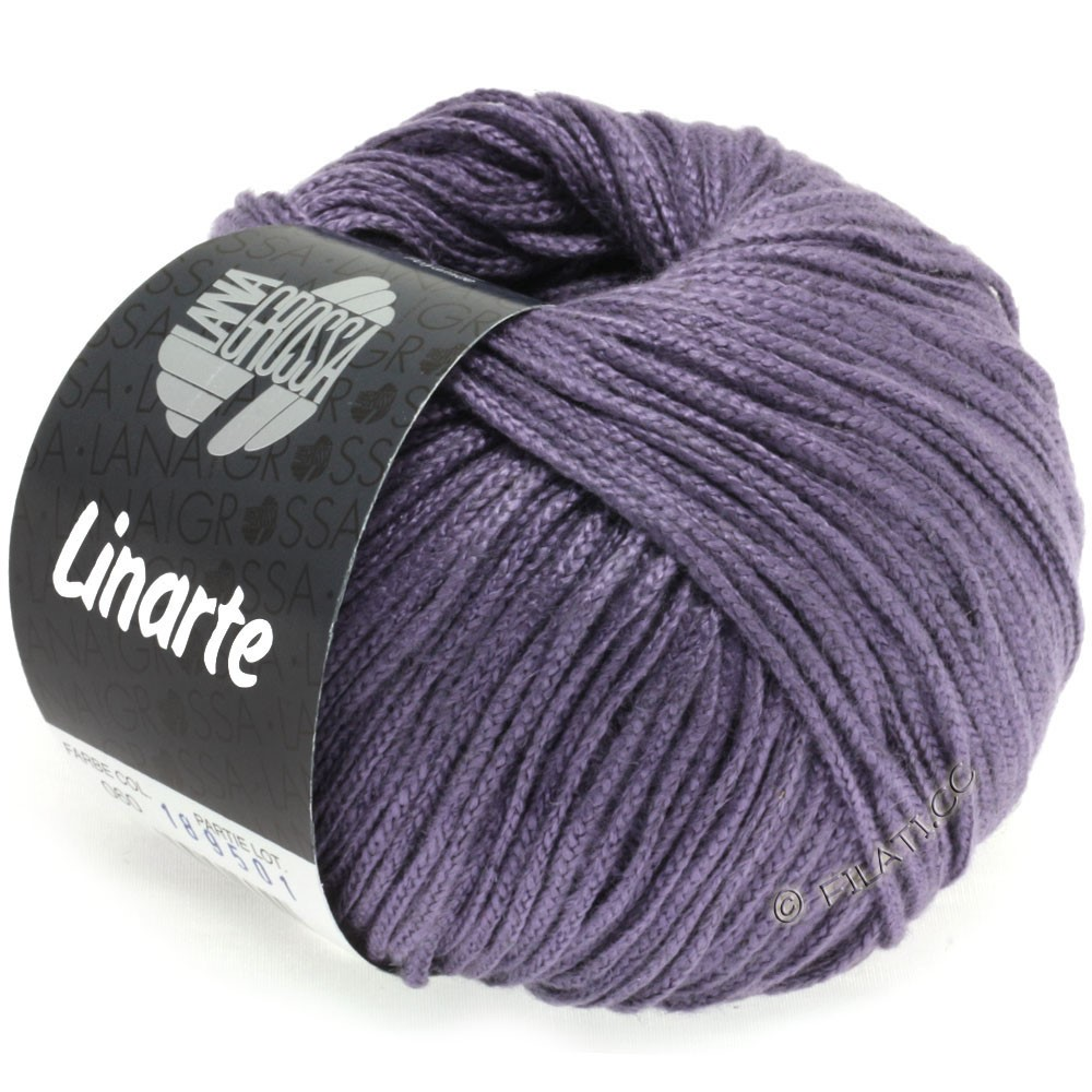 Lana Grossa LINARTE | 63-plum blue