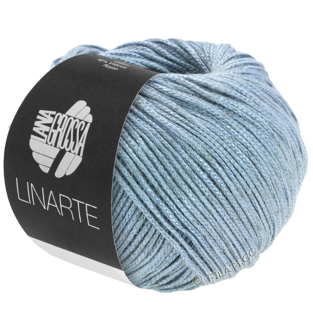 Lana Grossa LINARTE | 76-gray blue