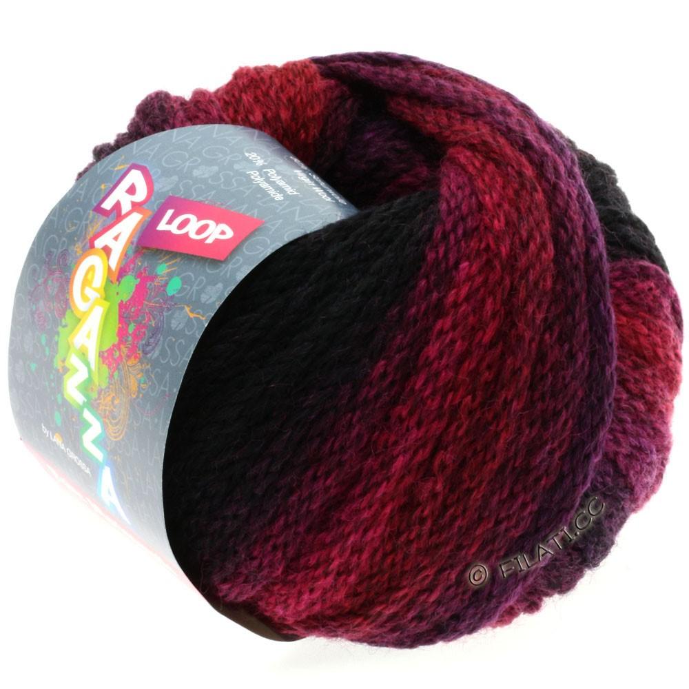 Lana Grossa LOOP (Ragazza) | 02-raspberry/blackberry
