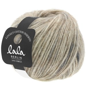 Lana Grossa LOVELY COTTON Inserto (lala BERLIN) | 102-beige/anthracite