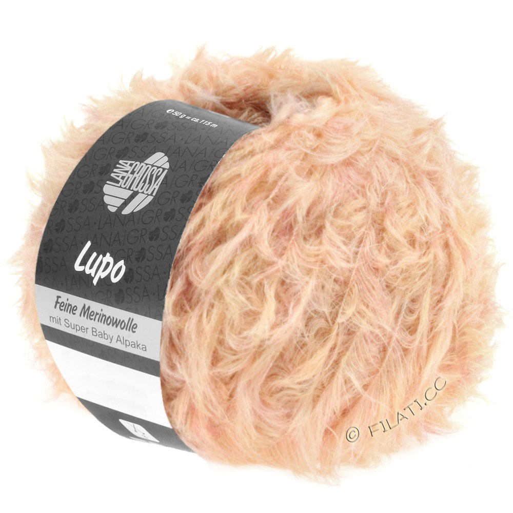 Lana Grossa LUPO | 02-salmon pink