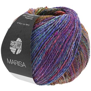 Lana Grossa MARISA | 04-blue/turquoise/pink/orange/red violet