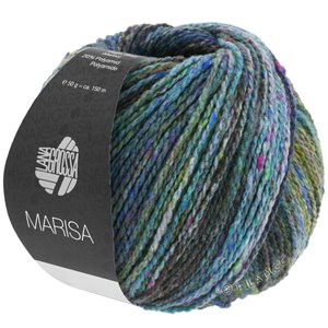 Lana Grossa MARISA | 10-dark petrol/light petrol/purple/lilac/olive