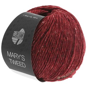 Lana Grossa MARY'S TWEED | 05-dark red mottled