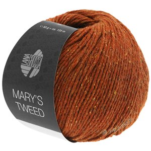 Lana Grossa MARY'S TWEED | 06-red brown mottled
