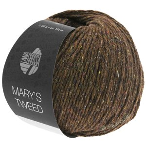 Lana Grossa MARY'S TWEED | 07-brown mottled
