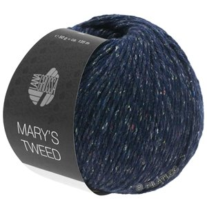 Lana Grossa MARY'S TWEED | 11-night blue mottled
