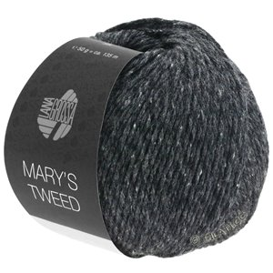 Lana Grossa MARY'S TWEED | 14-anthracite mottled