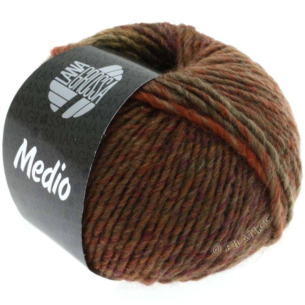 Lana Grossa MEDIO | 05-beige/brown/rust