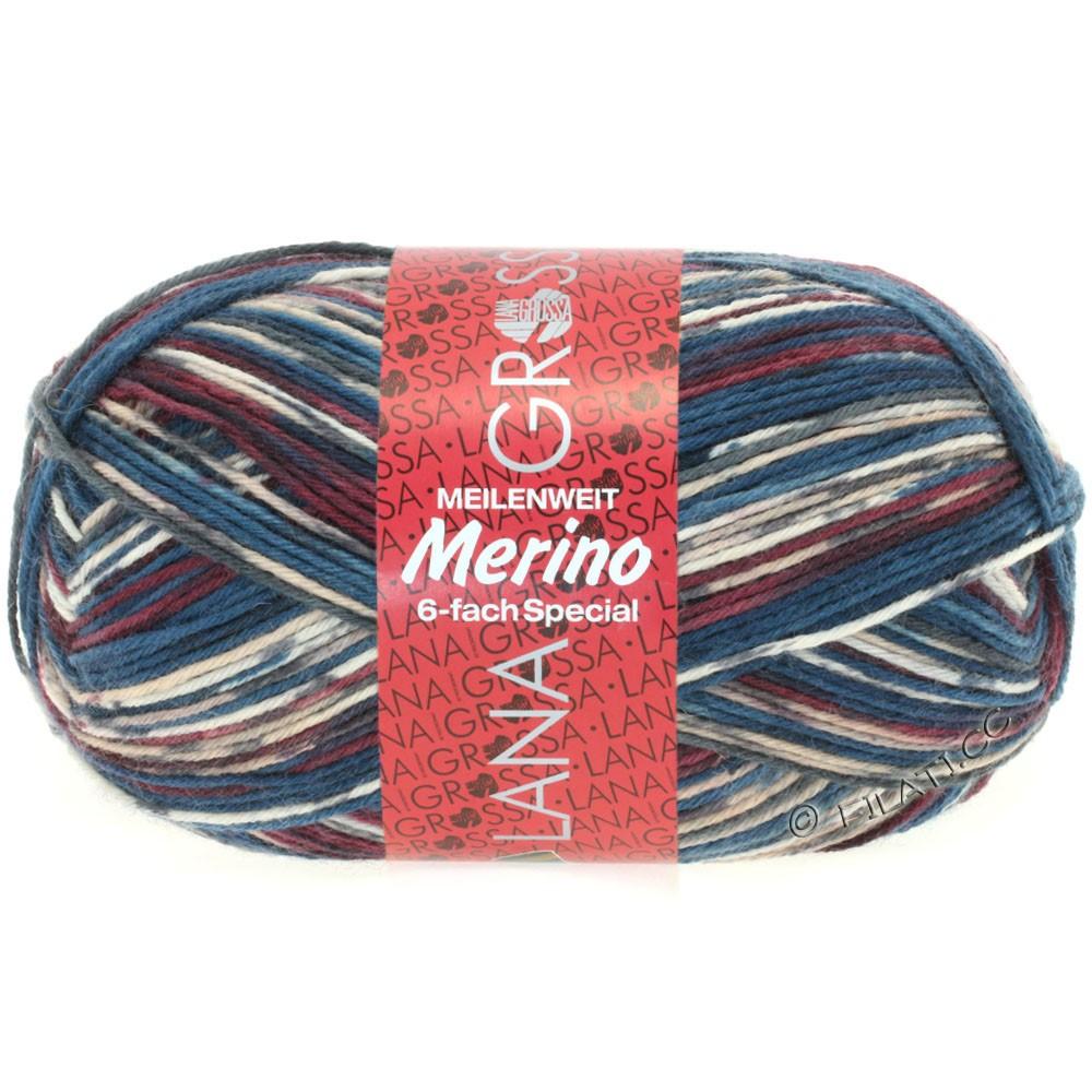 Lana Grossa MEILENWEIT 6-FACH 150g Merino | 9123-