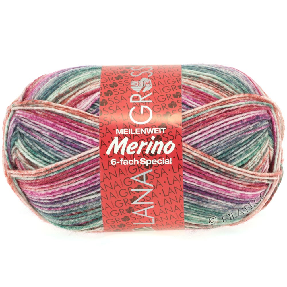 Lana Grossa MEILENWEIT 6-FACH 150g Merino | 9124-