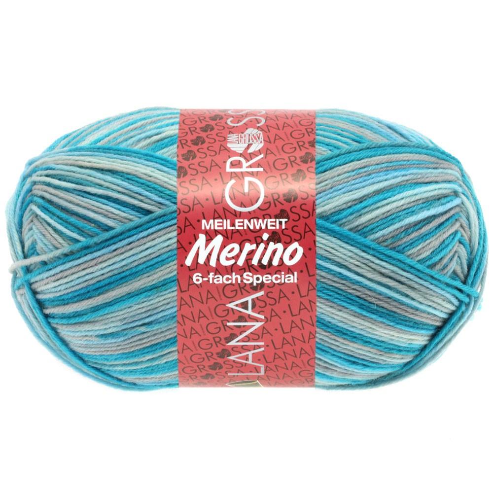 Lana Grossa MEILENWEIT 6-FACH 150g Merino   9173-