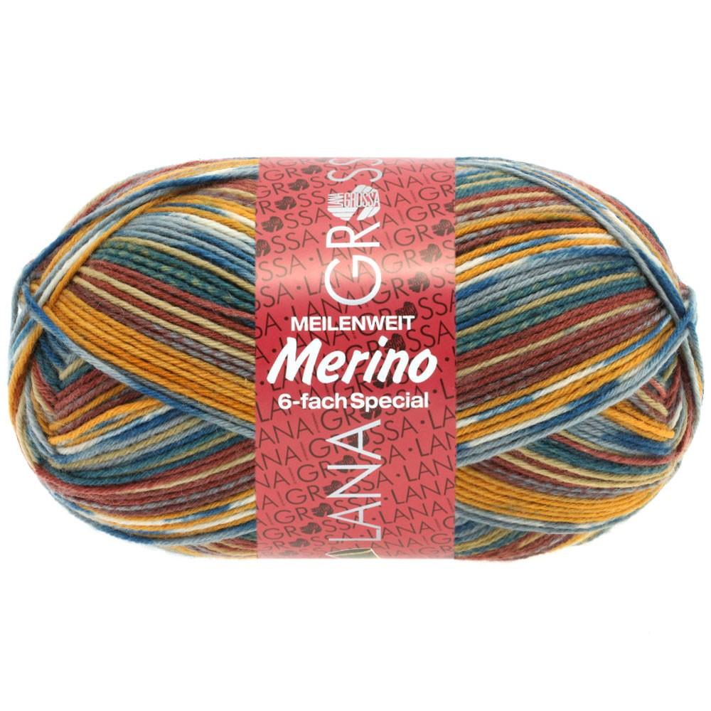 Lana Grossa MEILENWEIT 6-FACH 150g Merino | 9179-