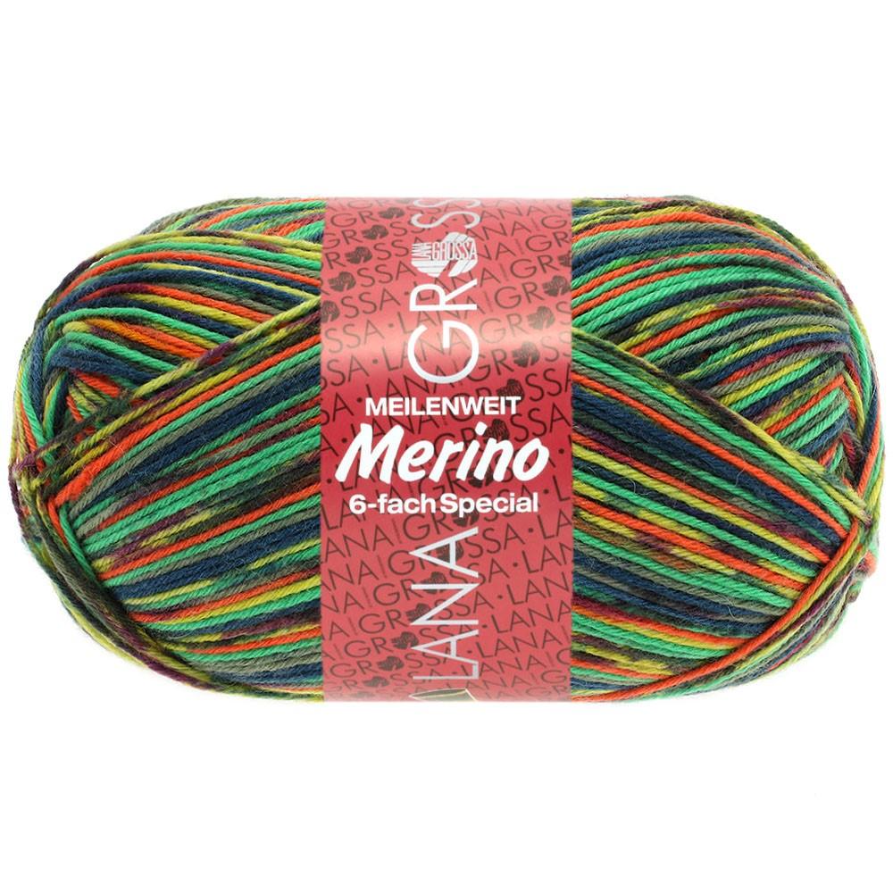 Lana Grossa MEILENWEIT 6-FACH 150g Merino | 9185-