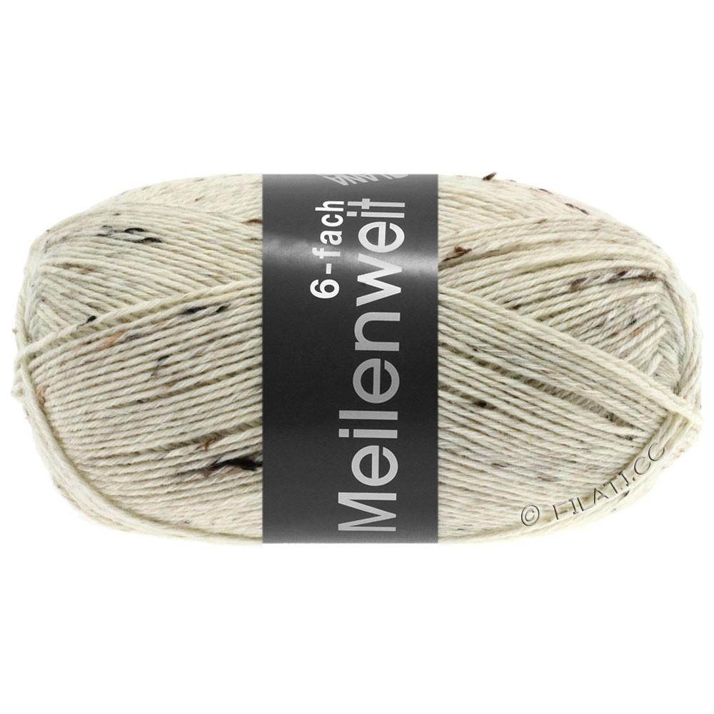 Lana Grossa MEILENWEIT 6-FACH 150g Print/Tweed | 8817-natural mottled