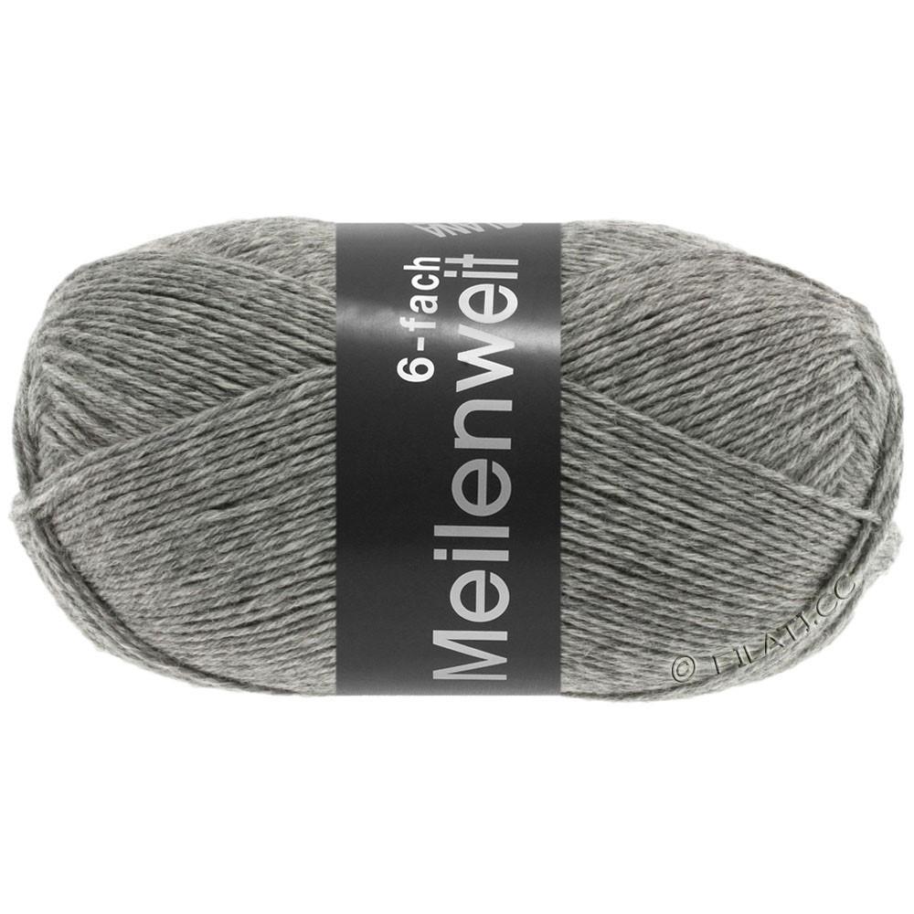 Lana Grossa MEILENWEIT 6-FACH 150g Uni | 8961-gray mottled
