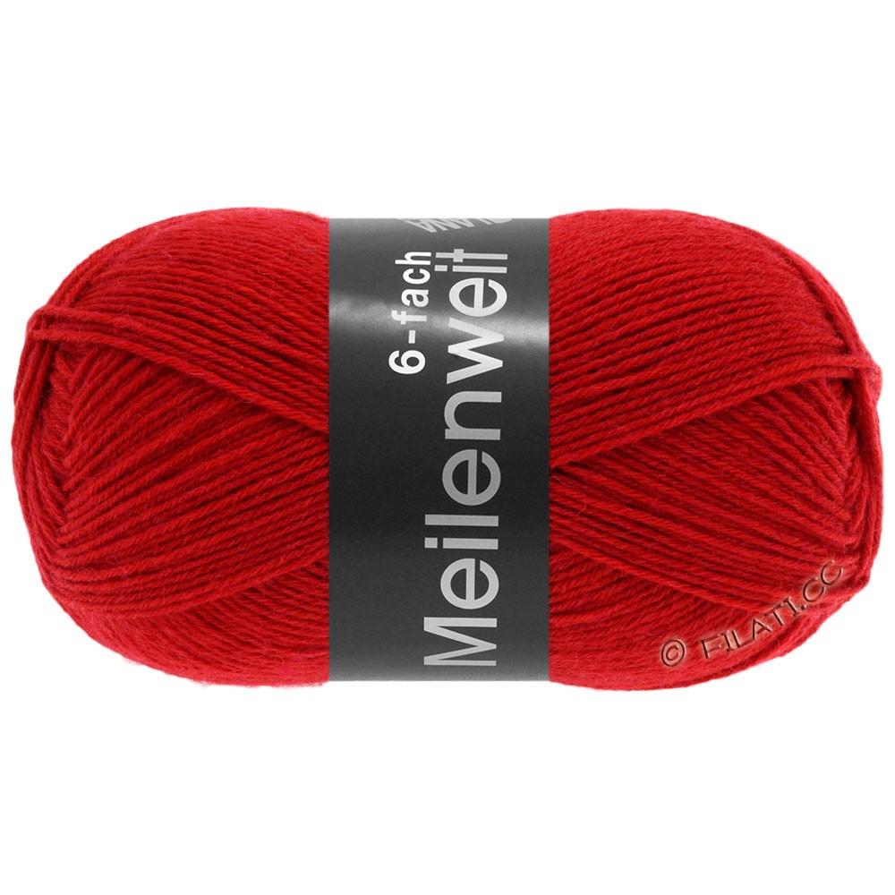 Lana Grossa MEILENWEIT 6-FACH 150g Uni | 8966-red