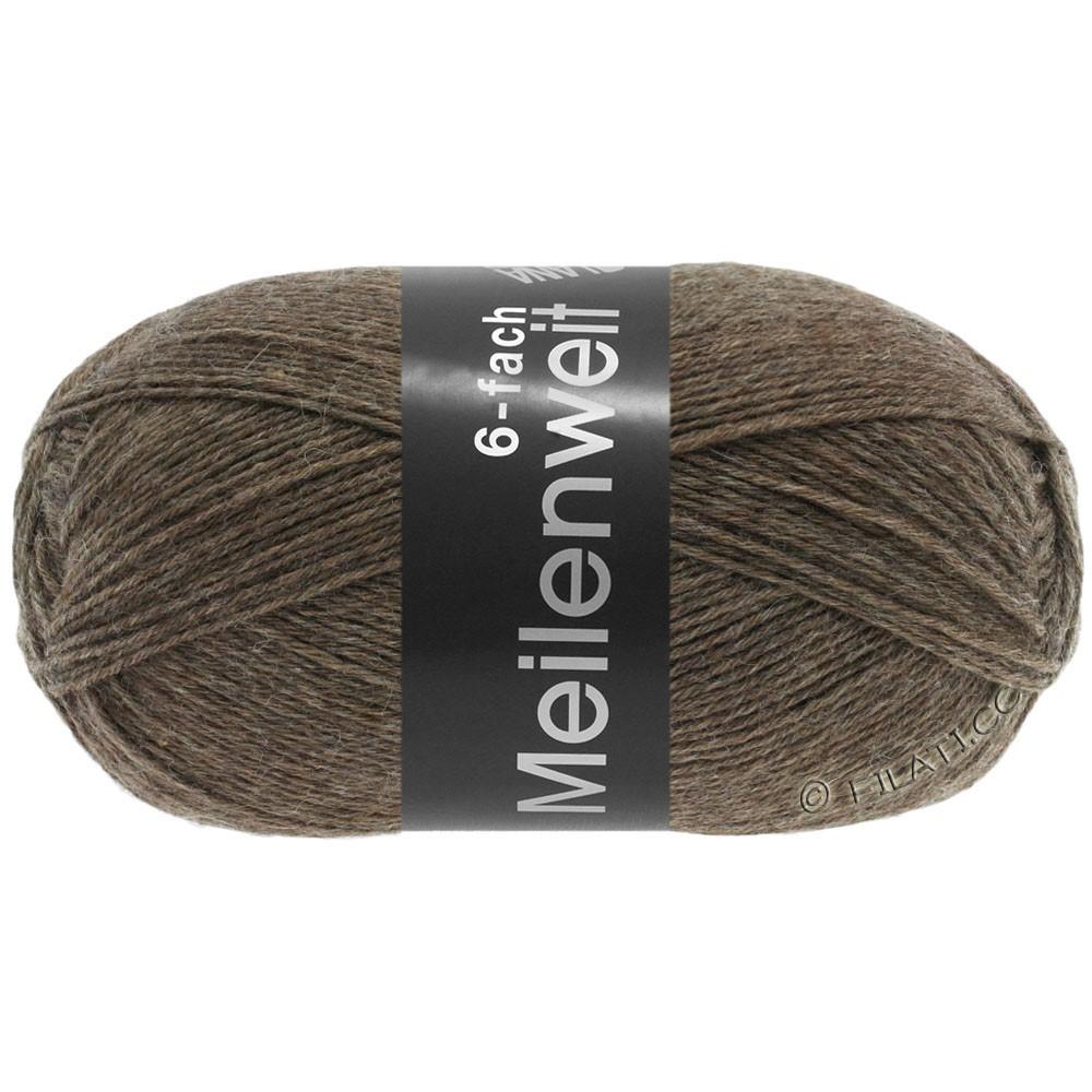 Lana Grossa MEILENWEIT 6-FACH 150g Uni | 9103-brown