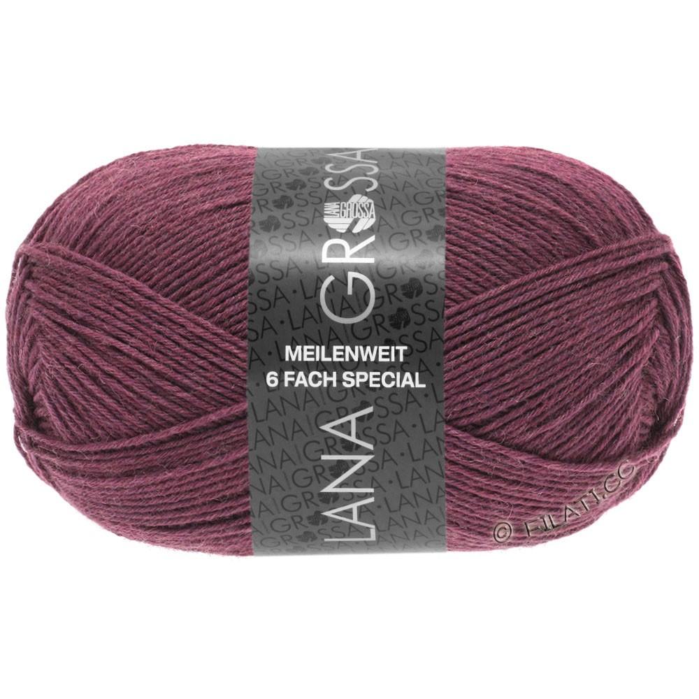 Lana Grossa MEILENWEIT 6-FACH 150g Uni | 9225-berry