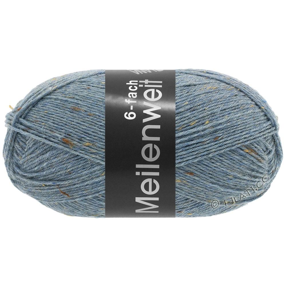 Lana Grossa MEILENWEIT 6-FACH 150g Print/Tweed | 9227-jeans blue mottled