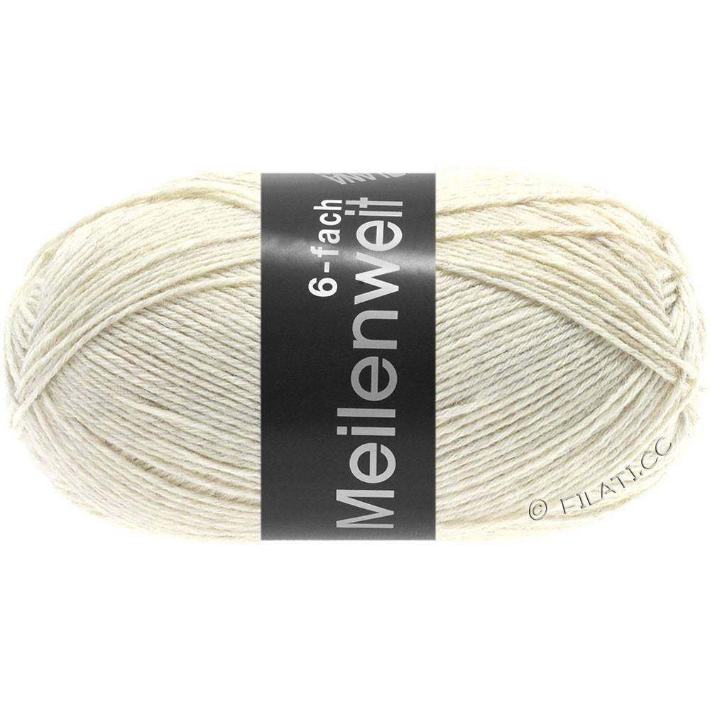 Lana Grossa MEILENWEIT 6-FACH 150g Uni | 9228-natural