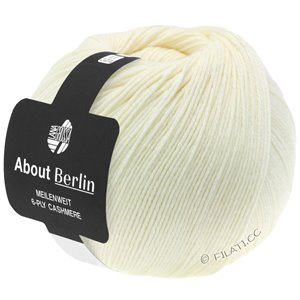 Lana Grossa MEILENWEIT 6-PLY CASHMERE (ABOUT BERLIN) | 001-raw white