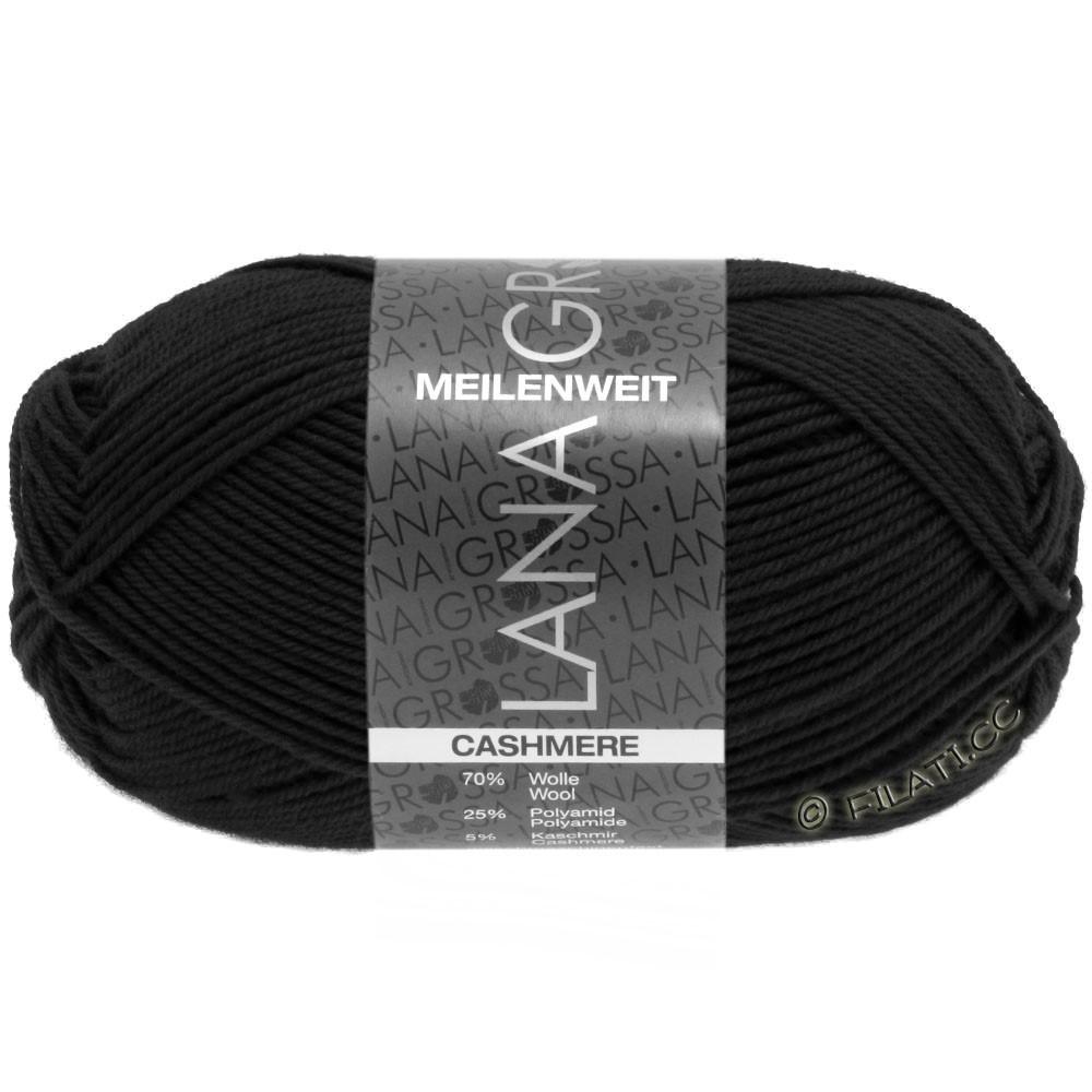 Lana Grossa MEILENWEIT 50g Cashmere | 08-black