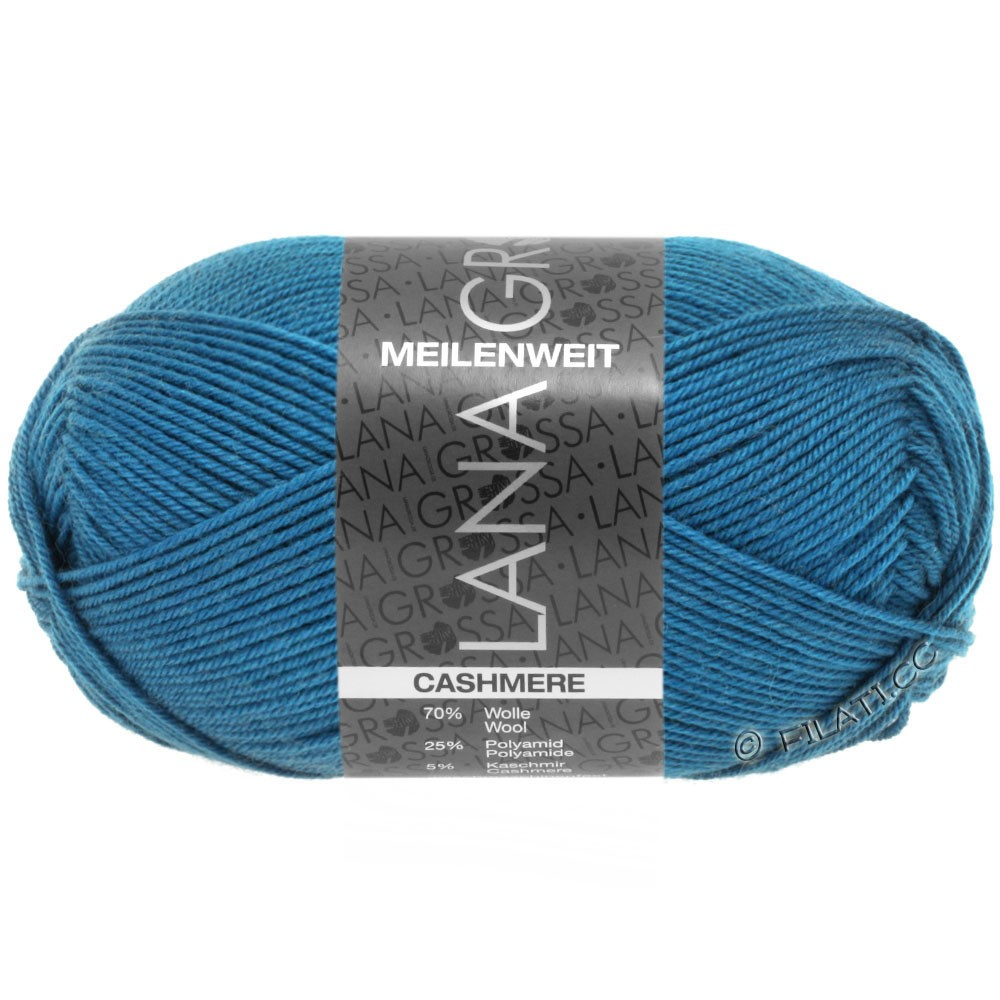 Lana Grossa MEILENWEIT 50g Cashmere | 10-blue