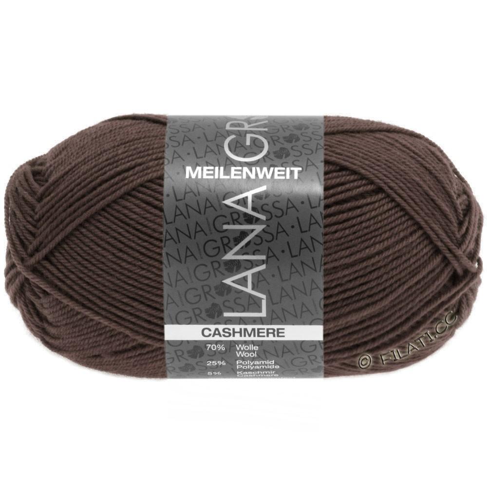 Lana Grossa MEILENWEIT 50g Cashmere | 15-brown
