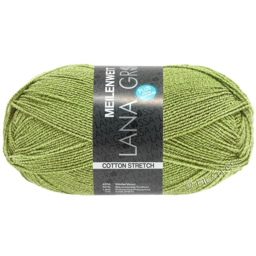 Lana Grossa MEILENWEIT 100g Cotton Stretch | 8054-may green