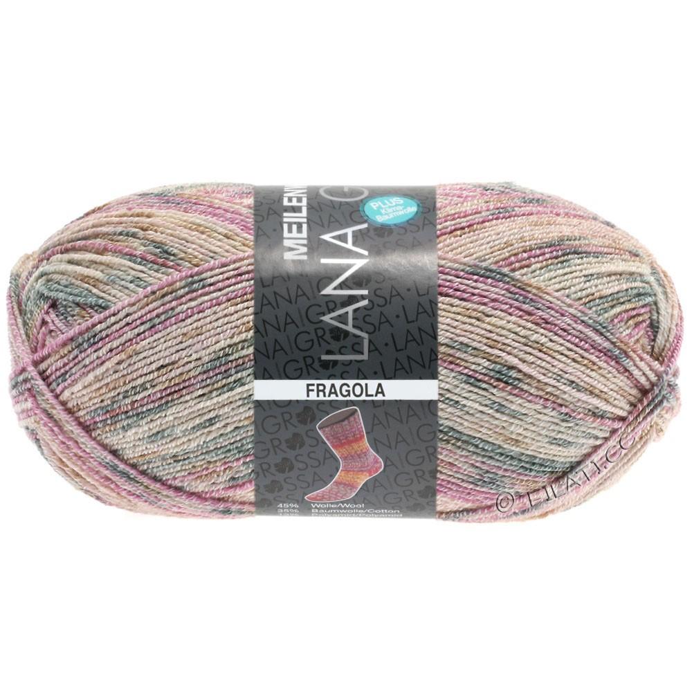 Lana Grossa MEILENWEIT 100g Cotton Stretch Print | 6202 - Fragola-