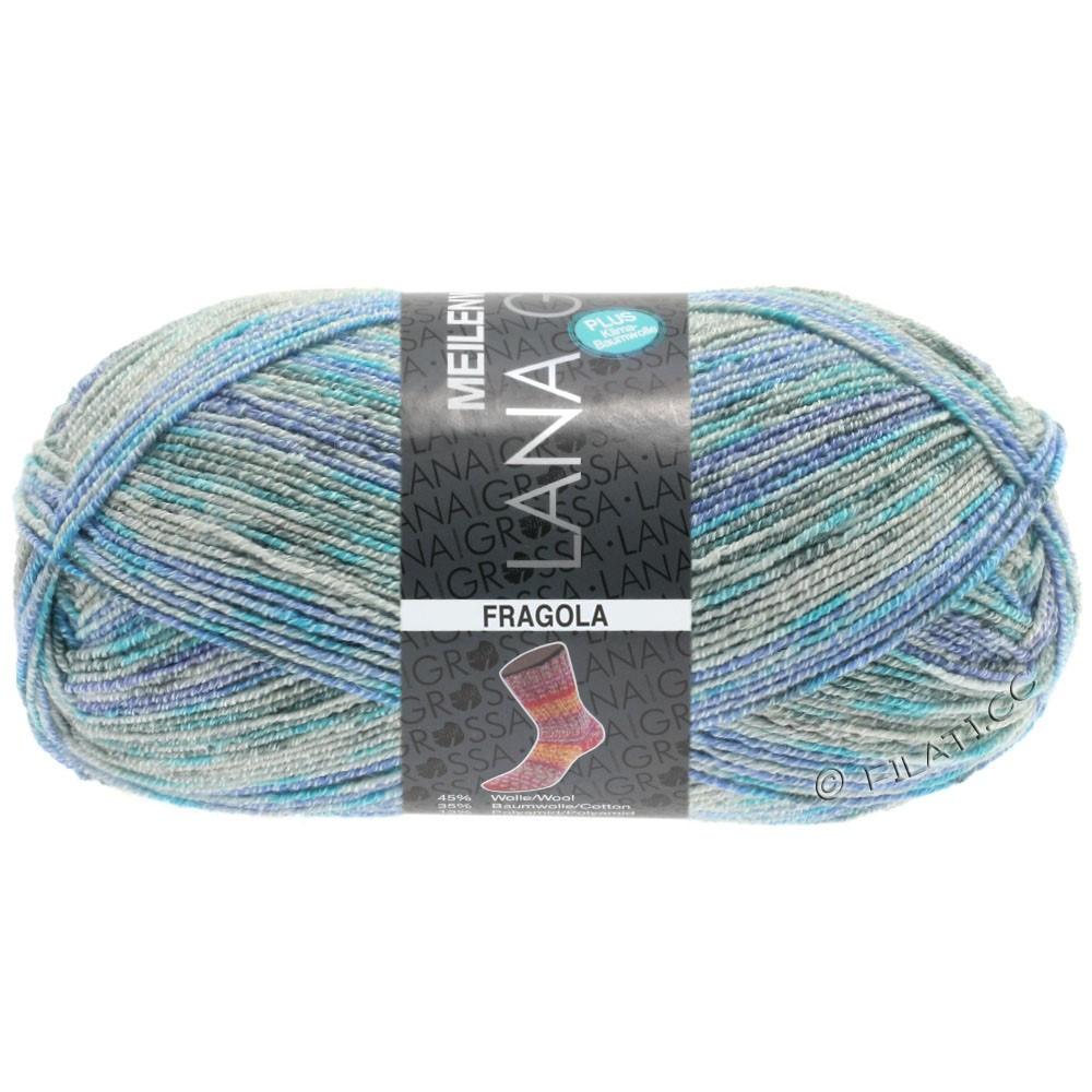 Lana Grossa MEILENWEIT 100g Cotton Stretch Print | 6203 - Fragola-