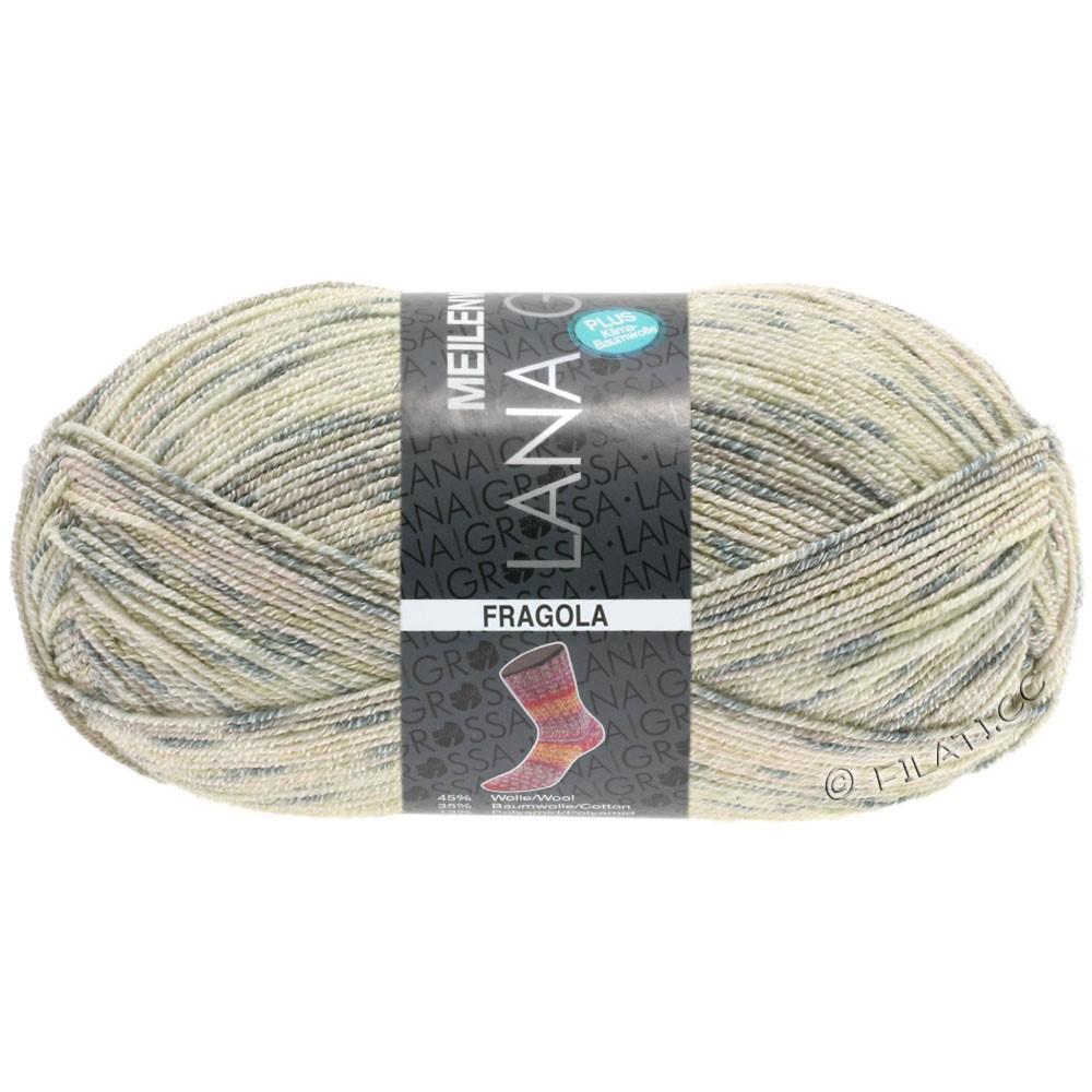 Lana Grossa MEILENWEIT 100g Cotton Stretch Print | 6207 - Fragola-