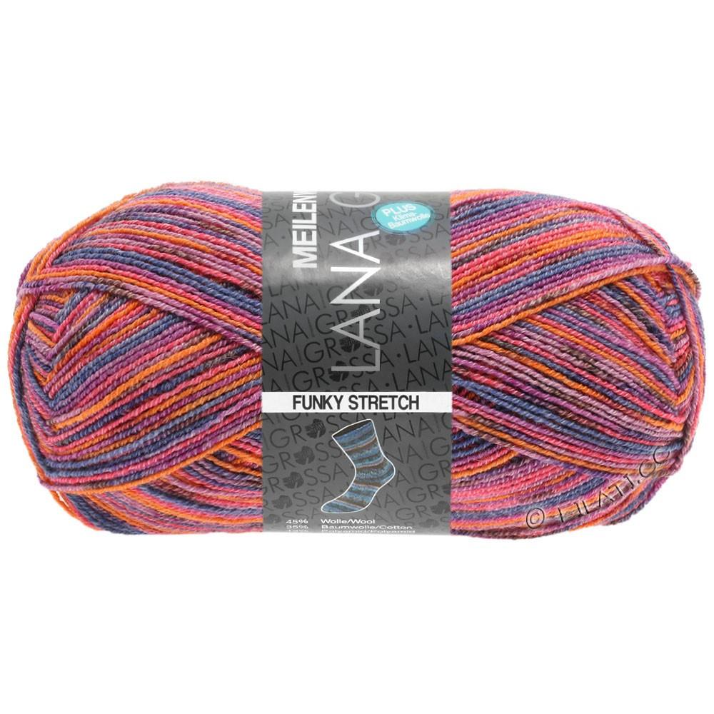 Lana Grossa MEILENWEIT 100g Cotton Stretch Print | 3104 - Funky Stretch-