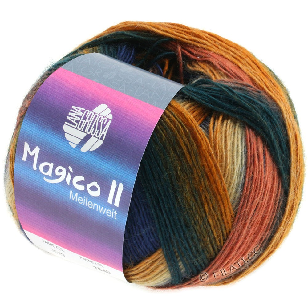 Lana Grossa MEILENWEIT 100g Magico II | 3529-