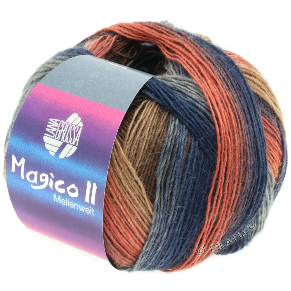 Lana Grossa MEILENWEIT 100g Magico II | 3533-
