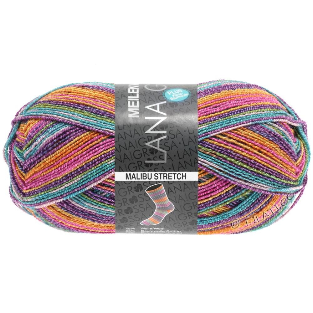 Lana Grossa MEILENWEIT 100g Cotton Stretch Print | 6303 - Malibu Stretch-