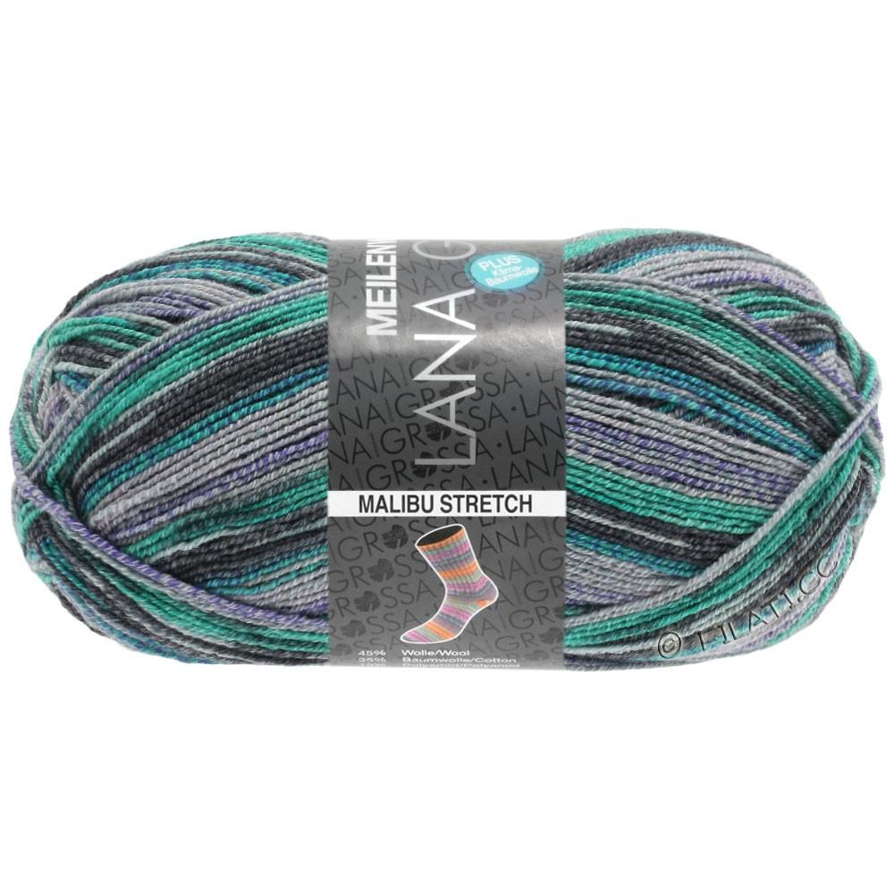 Lana Grossa MEILENWEIT 100g Cotton Stretch Print | 6305 - Malibu Stretch-