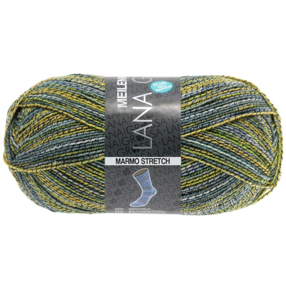 Lana Grossa MEILENWEIT 100g Cotton Stretch Print | 7251 - Marmo Stretch-