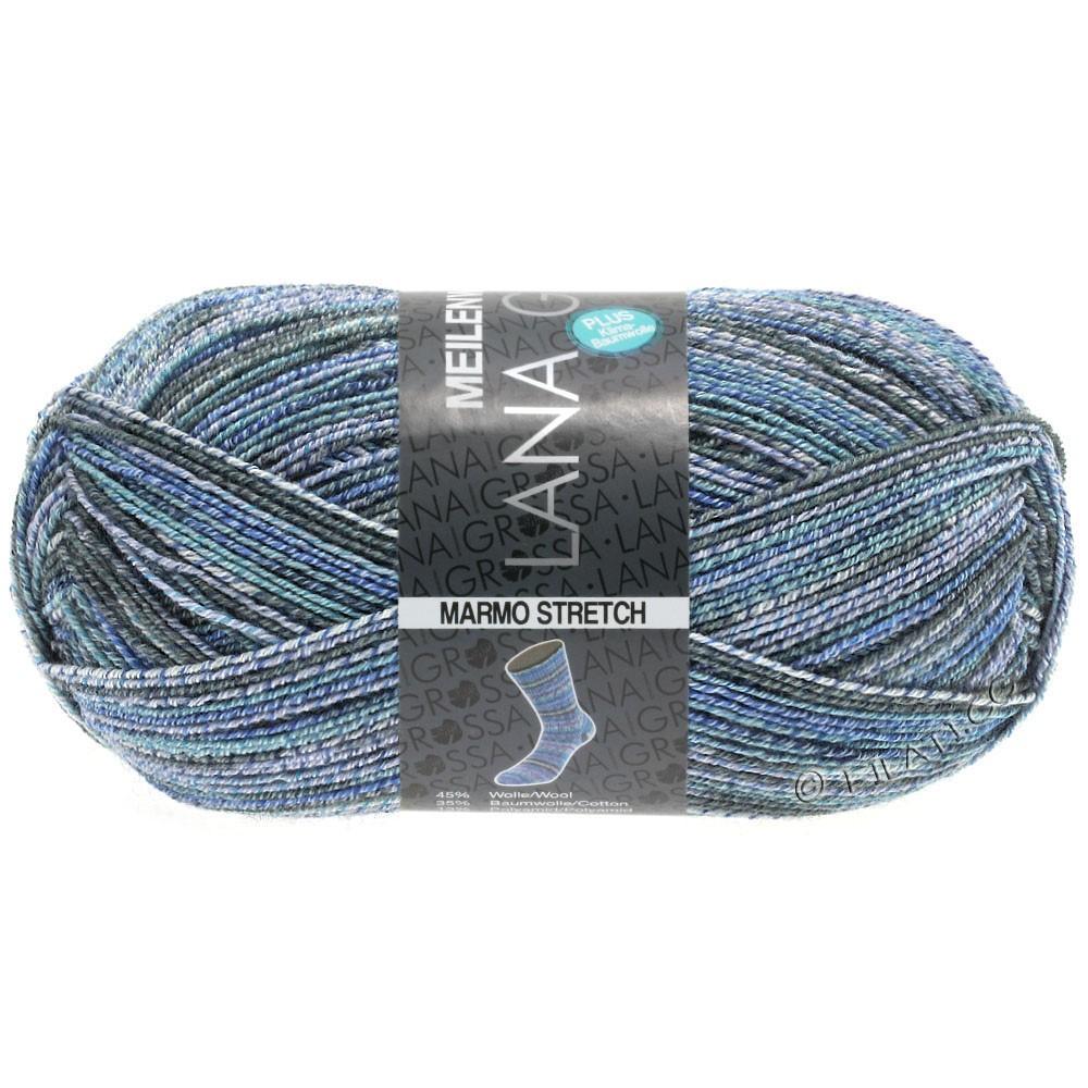 Lana Grossa MEILENWEIT 100g Cotton Stretch Print | 7257 - Marmo Stretch-