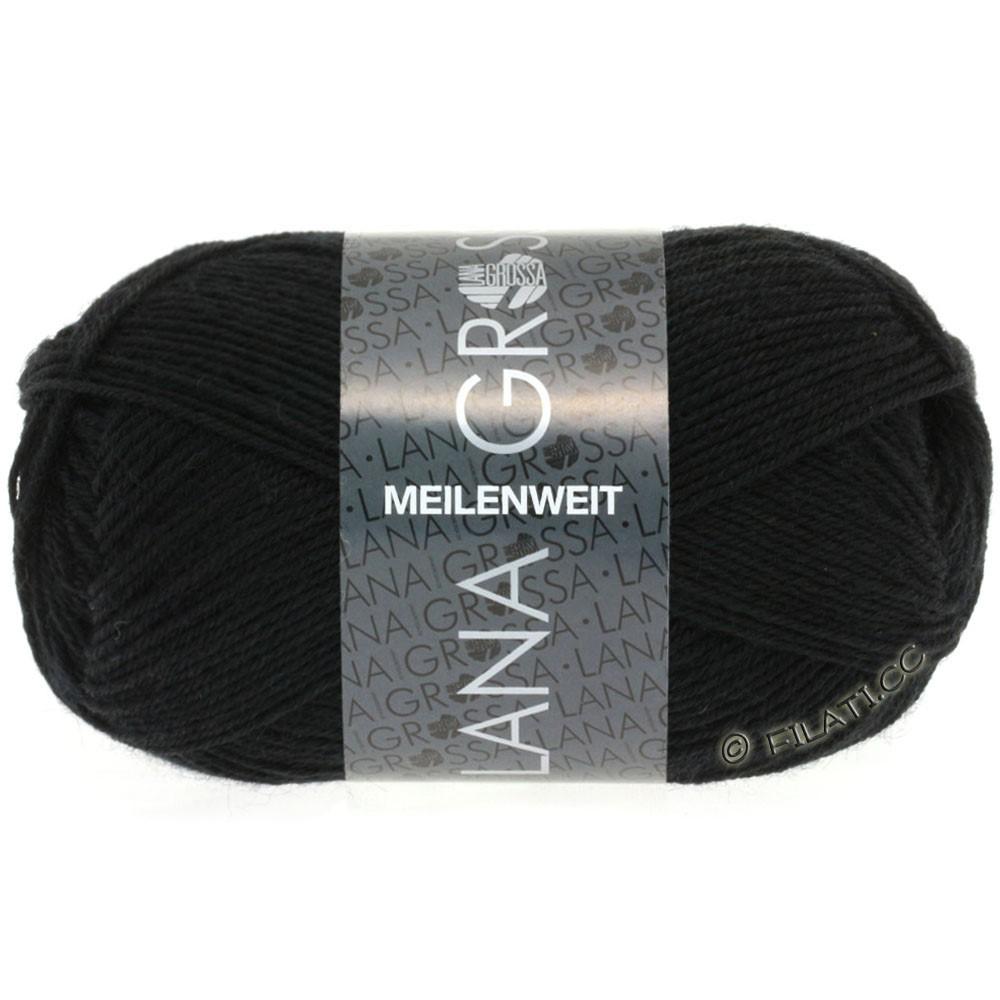 Lana Grossa MEILENWEIT 50g Uni | 1106-black