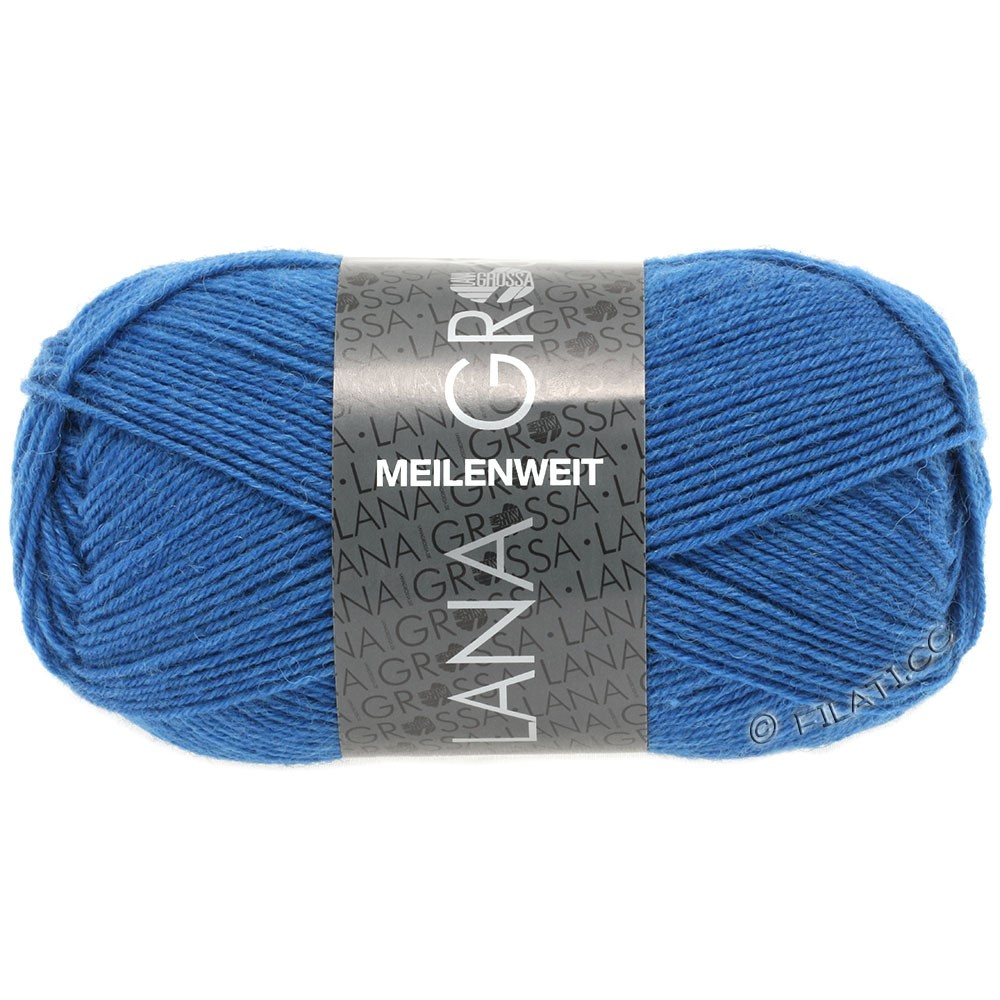 Lana Grossa MEILENWEIT 50g Uni | 1293-blue